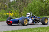 Vintage race car Russel-Alexis MK 15 FF from 1968 — Stock Photo