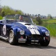 Vintage race touring car AC Cobra 427 SC Contemporary from 1965 — Stock Photo
