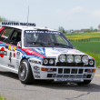 Vintage race touring carLancia Delta HF Integrale from 1988 — Stock Photo