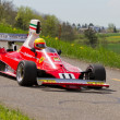 ストック写真: Vintage race car Ferrari 312T from 1975