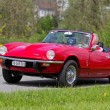 Vintage race touring car Triumph Spitfire GT6 MK III from 1971 — Stock Photo