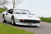 Vintage car Ferrari 308 GTB from 1977 — Stock Photo