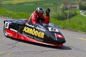 Vintage race car LCR Suzuki Sidecar from 2000 — Stock Photo