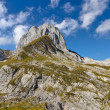 Royalty-Free Stock Photo: Rocky alpine landscape mountain, Switzerland