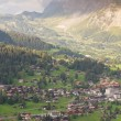 Grindelwald with mount Eiger, Switzerland — Stock Photo