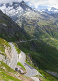 Susten pass road, Switzerland — Stock Photo