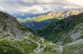 Gotthard mountain pass, Switzerland — Stock Photo