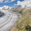 Aletsch glacier, Switzerland — Stock Photo #18527499