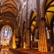 Interior of church Freiburg Muenster, Germany — ストック写真