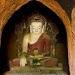 Stock Photo: Buddhstatue of Bagtemple, Burma