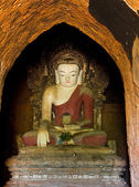 Buddha statue of Bagan temple, Burma — Foto Stock