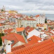 Over the red roofs of Lisboa, Portugal — Stock Photo #7020546