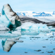 Jokulsarlon - Glacial Lagoon of Vatnajokull, Iceland — Stock Photo #17633957