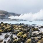 błękitne laguny, Islandia — Zdjęcie stockowe