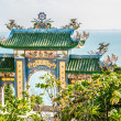 Gateway to the tample, Vietnam — Stock Photo