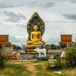Buddhstatue inside Temple complex, Cambodia — Stock Photo #17636837