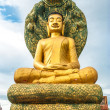 Buddha statue, Cambodia - Stock Photo