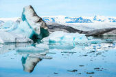 Jokulsarlon - Glacial Lagoon of Vatnajokull, Iceland — Stock Photo