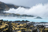 Blue Lagoon on Iceland — Stock Photo