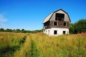Unfinished abandoned house — Stock Photo