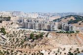 Housing estate in West Bank — Stock Photo