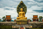 Buddha statue in Cambodia — Stock Photo