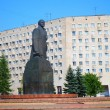 Lenin statue in Arkhangelsk, Russia — Stock Photo #17642775