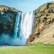 Skogarfoss waterfall, Iceland — Stock Photo