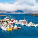 Djupivogur - fishing village on Iceland — Stock Photo