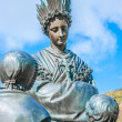 Statue in LSalette — Stock Photo #17647141
