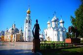 Praça do kremlin de vologda — Fotografia Stock