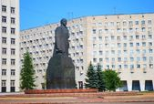 Lenin statue in Arkhangelsk, Russia — Stock Photo