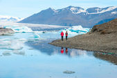 Jokulsarlon bay, Iceland — Stock Photo