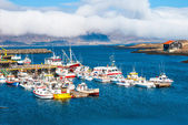 Djupivogur - fishing village on Iceland — Stock Photo