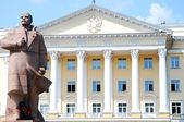 Statue of Vladymir Lenin, Smolensk, Russia — Stock Photo