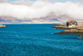 Calm bay in Djupivogur, fishing town in Iceland — Stock Photo