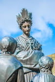 Statue in La Salette — Stock Photo