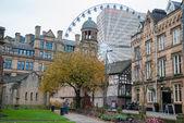 Manchester city center — Stock Photo