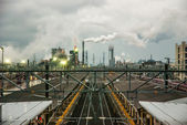 Industrial area of Japan — Stock Photo