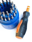 Screwdriver tools set — Stock Photo