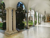 View of Italian patio in Livadian Palace — Stock Photo