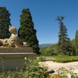 Sculpture in the park of Massandra palace in Crimea — Stock Photo