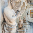 Sculptures in Massandra palace in Crimea — Stock Photo
