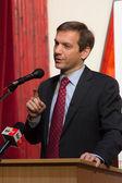 Former prime minister of Hungary, Mr. Gordon Bajnai — Stock Photo