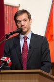 Bývalý premiér Maďarska, pan gordon bajnai — Stock fotografie