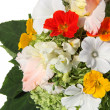 Bouquet of color summer flowers - Stock Photo