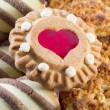 Mix of sweet cookies — Stock Photo