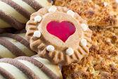 Mix of sweet cookies — Stock Photo