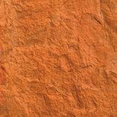 Red brick texture macro closeup, old detailed rough grunge textu — Stock Photo