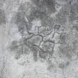 Grunge gray wall stucco texture, dark natural grey rustic concrete — Stock Photo